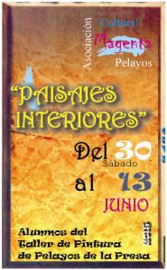 """Exposición de Pintura """"Paisajes Interiores"""""""