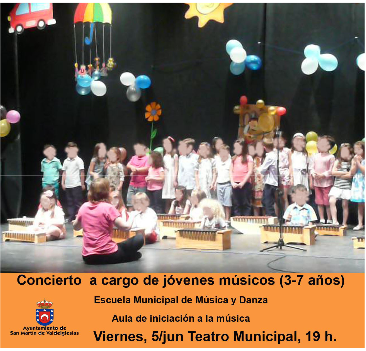 Concierto de la Escuela de Música de San Martín de Valdeiglesias