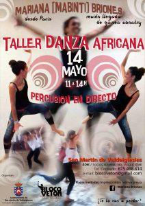 cartel danza africana