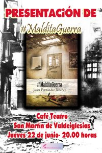 PRESENTACiON SAN MARTIN MALDITA GUERRA