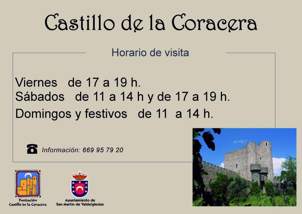 horarios del castillo verano2017 f