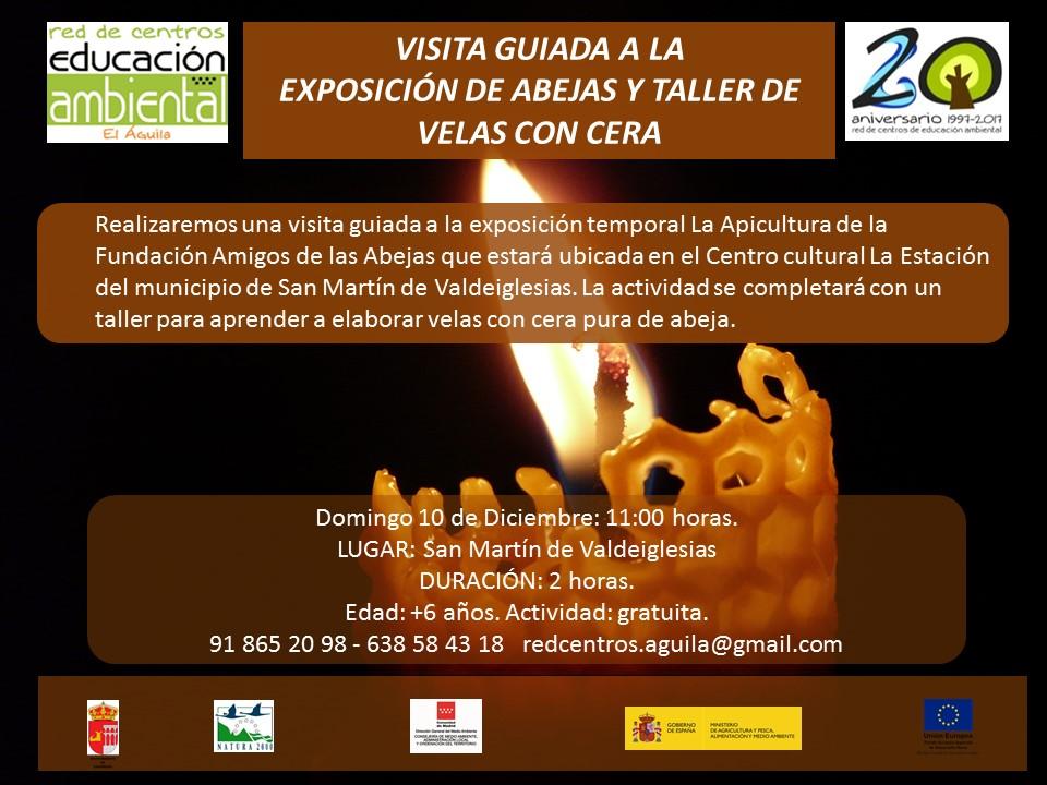 Visita guiada la exposición y taller de velas